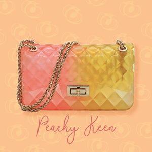Peachy Keen Jelly Shoulder Bag